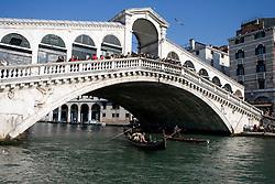 Venice 2007 - Rialto Bridge on Grand Canal.