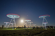 Picture from Roy Riley 0781 6547063<br /> 160916<br /> <br /> Ray Lee's Chorus in Portland. The installation is part of the free Inside Out Dorset and B-Side Festivals across Dorset from 16-25 September Copyright Roy Riley 0781 6547063