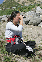 Sandi Matsumoto Observing Birds