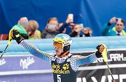 05.03.2017, Podkoren, Kranjska Gora, SLO, FIS Weltcup Ski Alpin, Kranjska Gora, Slalom, Herren, 2. Lauf, im Bild Felix Neureuther (GER, 3. Platz) // third placed Felix Neureuther of Germany reacts after his 2nd run of men's Slalom of FIS ski alpine world cup at the Podkoren in Kranjska Gora, Slovenia on 2017/03/05. EXPA Pictures © 2017, PhotoCredit: EXPA/ Johann Groder