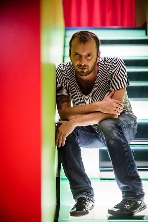 30 JUN 2010 - Bologna - Cesare Cremonini, cantante e musicista pop italiano