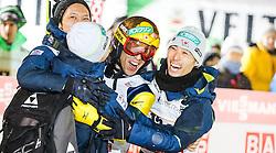 22.02.2016, Puijo, Kuopio, FIN, FIS Weltcup Ski Sprung, Kuopio, Teamspringen, im Bild Noriaki Kasai (JPN) mit Team // Noriaki Kasai of Japan with team during Mens Teamevent of Kuopio FIS Skijumping World Cup at the Puijo in Kuopio, Finland on 2016/02/22. EXPA Pictures © 2016, PhotoCredit: EXPA/ Tadeusz Mieczynski