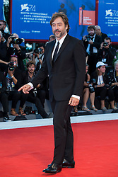 """Javier Bardem arriving to the premiere of """"Mother"""" as part of the 74th Venice International Film Festival (Mostra) in Venice, Italy on September 5, 2017. Photo by Marco Piovanotto/ABACAPRESS.COM"""