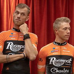 29-11-2018: Wielrennen: Team Roompot Charles: Kamperland <br />Lars Boom; Maurits Lammertink