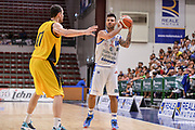 """DESCRIZIONE : Torneo Città di Sassari """"Mimì Anselmi"""" Dinamo Banco di Sardegna Sassari - AEK Atene<br /> GIOCATORE : Brian Sacchetti<br /> CATEGORIA : Passaggio<br /> SQUADRA : Dinamo Banco di Sardegna Sassari<br /> EVENTO :  Torneo Città di Sassari """"Mimì Anselmi"""" <br /> GARA : Dinamo Banco di Sardegna Sassari - AEK Atene Torneo Città di Sassari """"Mimì Anselmi""""<br /> DATA : 12/09/2015<br /> SPORT : Pallacanestro <br /> AUTORE : Agenzia Ciamillo-Castoria/L.Canu"""