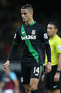 Ibrahim Afellay of Stoke City looks on. Barclays Premier league match, West Ham Utd v Stoke city at the Boleyn Ground, Upton Park  in London on Saturday 12th December 2015.<br /> pic by John Patrick Fletcher, Andrew Orchard sports photography.