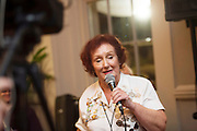 03/11/2016 Repro fee: Rita Gilligan's book The Rock 'n' Roll Waitress from The Hard Rock Cafe My Life in Hotel Meyrick, Galway was launched my Cllr. Noel Larkin Mayor of Galway .   Photo :Andrew Downes, XPOSURE