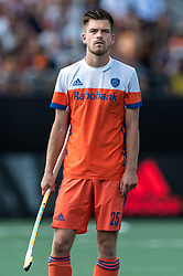 Thierry Brinkman of The Netherlands during the Champions Trophy match between the Netherlands and India on the fields of BH&BC Breda on June 30, 2018 in Breda, the Netherlands