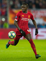 SALZBURG, AUSTRIA - Tuesday, December 10, 2019: Liverpool's Sadio Mané during the final UEFA Champions League Group E match between FC Salzburg and Liverpool FC at the Red Bull Arena. (Pic by David Rawcliffe/Propaganda)