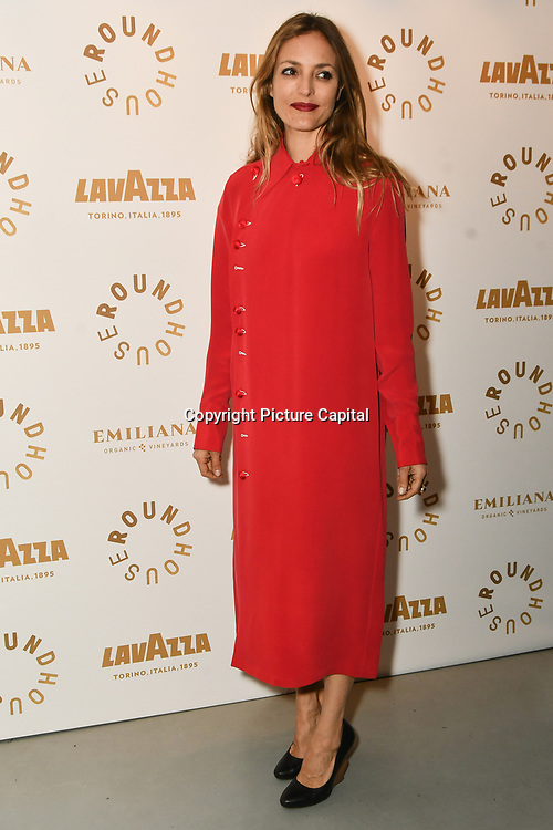 Carolina Mazzocari attend Biennial fundraiser in aid of The Roundhouse Trust which helps 3000  11-25 year-olds from all backgrounds to realise their creative potential through opportunities in music, media and performing arts on 14 March 2019 at Roundhouse Gala, London, UK.