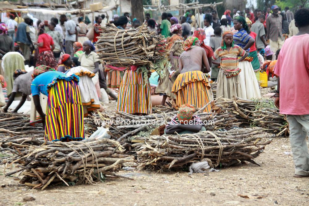 Africa, Ethiopia, Konso market