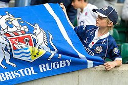 Bristol Rugby fan - Rogan Thomson/JMP - 03/09/2016 - RUGBY UNION - Twickenham Stadium - London, England - Harlequins v Bristol Rugby - Aviva Premiership London Double Header.