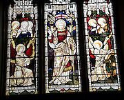 Stained glass Church of Saint Michael, Boulge, Suffolk