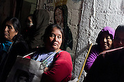 """The caravan of Central American Mothers visits the shelter """"La Sagrada Familia"""" (The Sacred Family) located in Apizaco, Tlaxcala, on October 24th, 2012 (Photo: Prometeo Lucero)"""