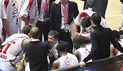 DESCRIZIONE : Final Eight Coppa Italia 2015 Finale Olimpia EA7 Emporio Armani Milano - Dinamo Banco di Sardegna Sassari<br /> GIOCATORE : Luca Banchi<br /> CATEGORIA : allenatore coach time out<br /> SQUADRA : EA7 Emporio Armani Olimpia MIlano<br /> EVENTO : Final Eight Coppa Italia 2015<br /> GARA : Olimpia EA7 Emporio Armani Milano - Dinamo Banco di Sardegna Sassari<br /> DATA : 22/02/2015<br /> SPORT : Pallacanestro <br /> AUTORE : Agenzia Ciamillo-Castoria/A.Scaroni<br /> GALLERIA : Lega Basket A 2014-2015<br /> FOTONOTIZIA : Final Eight Coppa Italia 2015 Finale Olimpia EA7 Emporio Armani Milano - Dinamo Banco di Sardegna Sassari<br /> PREDEFINITA :