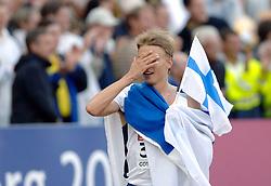 11-08-2006 ATLETIEK: EUROPEES KAMPIOENSSCHAP: GOTHENBURG <br /> Jukka Keskisalo uit Finland wint de 300 meter steeple<br /> ©2006-WWW.FOTOHOOGENDOORN.NL