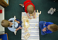 Students at Seabury School.  (Photo/John Froschauer)