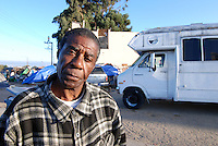 Soledad St. resident William Silas, 65, who has formally asked the city for a public forum on homelessness in Salinas.