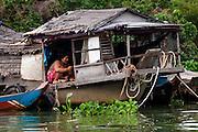 Life on Lake Tonle Sap - Cambodia