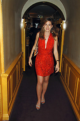 FRANCESCA VERSACE at a dinner hosted by fashion label Issa at Annabel's, Berekely Square, London on 24th April 2007.<br /><br />NON EXCLUSIVE - WORLD RIGHTS