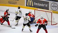 Ishockey, Get-ligaen, 3. oktober 2015, Oilers - Kongsvinger.  Tommy Kristiansen, Oilers, setter inn 1-0 scoring.  Foto: Tore Fjermestad