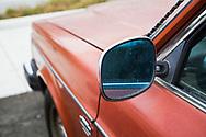 Detalj av en Volvo 240. Portland, Oregon, USA<br /> Foto: Christina Sjögren