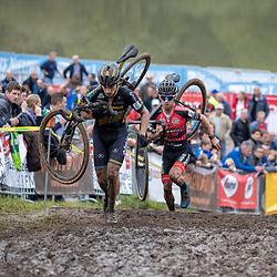 13-10-2019: Cycling: Superprestige Cyclocross: Gieten <br />Quinten Hermans, Eli Iserbyt