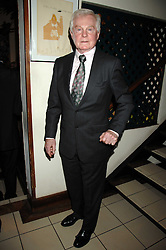 Actor SIR DEREK JACOBI at a party to celebrate the publication of Pailine Hyde's book 'Midas Man' held at San Lorenzo, Beauchamp Place, London on 29th May 2008.<br /><br />NON EXCLUSIVE - WORLD RIGHTS