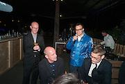 TERRY HARDING; VADMIM GRIGORIAN, Absolut Art Bureau Dinner at Base 13. Documenta ( 13 ), Kassel, Germany. 14 September 2012.