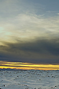 Snow Sunset, Mount Wellington Forest Park - Tasmania