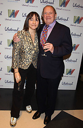 Writers ALI SMITH and CHRISTOPHER LOGUE finalists in the 2005 Whitbread book of the Year at the 2005 Whitbread Book Awards 2005 held at The Brewery, Chiswell Street, London EC1 on 24th January 2006. The winner of the 2005 Book of the Year was Hilary Spurling for her biography 'Matisse the Master'.<br /><br />NON EXCLUSIVE - WORLD RIGHTS