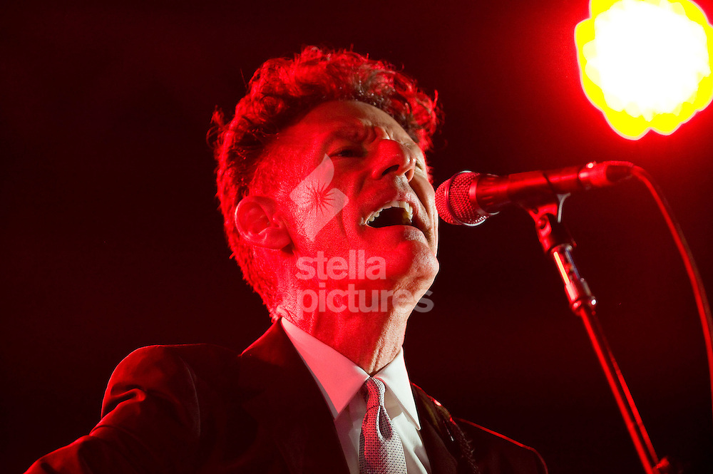 Picture by Daniel Hambury. .15/7/11..Lyle Lovett performing at Latitude, a music and arts festival set on the Henham Estate in Suffolk..The event runs from July 14th to 17th 2011.