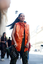 Street style, Aleali May arriving at Valentino Spring-Summer 2019 menswear show held at Musee des Arts Decoratifs, in Paris, France, on June 20th, 2018. Photo by Marie-Paola Bertrand-Hillion/ABACAPRESS.COM
