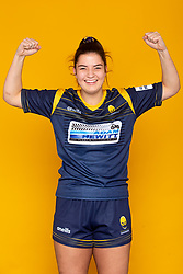 Jemima Moss of Worcester Warriors Women - Mandatory by-line: Robbie Stephenson/JMP - 27/10/2020 - RUGBY - Sixways Stadium - Worcester, England - Worcester Warriors Women Headshots