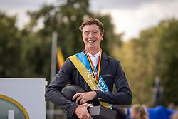 Clemens Pieter, BEL<br /> Belgisch Kampioenschap Jumping  <br /> Lanaken 2020<br /> © Hippo Foto - Dirk Caremans<br /> <br />  05/09/2020