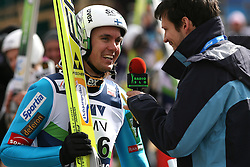 Anssi Koivuranta (FIN) at Qualification's 1st day of 32nd World Cup Competition of FIS World Cup Ski Jumping Final in Planica, Slovenia, on March 19, 2009. (Photo by Vid Ponikvar / Sportida)