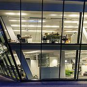 NLD/Amsterdam/20150309 - Filmmuseum Eye in Amsterdam, kantorengedeelte,