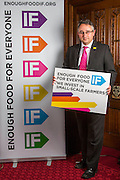 Martin Horwood MP supporting the Enough Food for Everyone?IF campaign. .MP's and Peers attended the parliamentary launch of the IF campaign in the State Rooms of Speakers House, Palace of Westminster. London, UK.