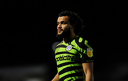 Dominic Bernard of Forest Green Rovers looks on- Mandatory by-line: Nizaam Jones/JMP - 27/02/2021 - FOOTBALL - The innocent New Lawn Stadium - Nailsworth, England - Forest Green Rovers v Colchester United - Sky Bet League Two