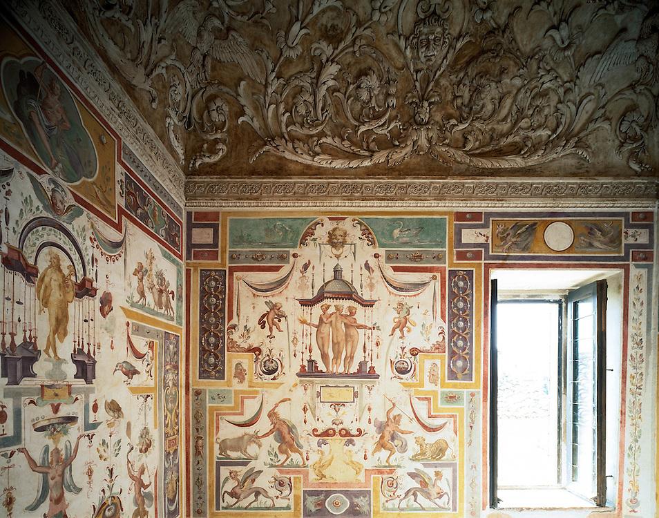 Sabbioneta (MN) - La città ideale di Vespasiano Gonzaga - Palazzo Giardino - Il Camerino delle Grazie