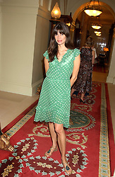 Model LISA BARBUSCIA at the CLIC Sargent's Yumy Mummy lunch held at The Lanesborough Hotel, Hyde Park Corner, London on 20th September 2005.<br /><br />NON EXCLUSIVE - WORLD RIGHTS