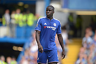 Kurt Zouma of Chelsea looking on. Barclays Premier League match, Chelsea v Arsenal at Stamford Bridge in London on Saturday 19th September 2015.<br /> pic by John Patrick Fletcher, Andrew Orchard sports photography.