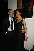 Kevin Spacey, Eve Best, First night  for 'A Moon For the Misbegotten' at the Old Vic.  Party at Trafalgar. London. 27 September 2006. -DO NOT ARCHIVE-© Copyright Photograph by Dafydd Jones 66 Stockwell Park Rd. London SW9 0DA Tel 020 7733 0108 www.dafjones.com