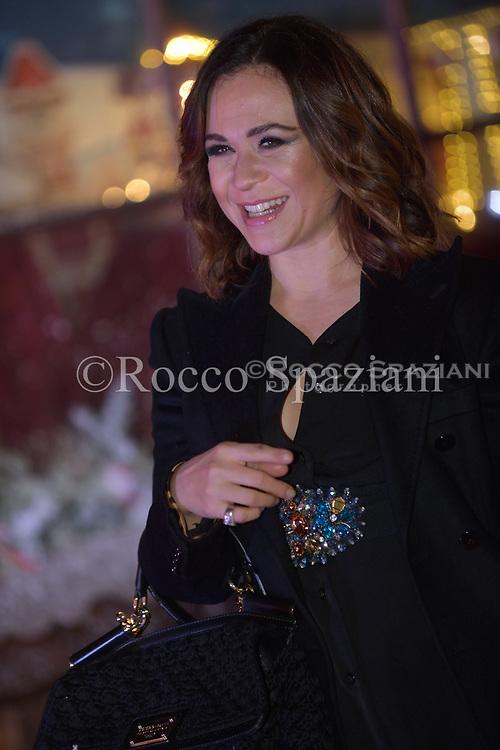 Valeria Graci Super Vacanze di Natale premiere, Red carpet, Rome, Italy - 12 Dec 2017