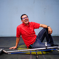 062415       Cable Hoover<br /> <br /> Freelance graphic artist Patrick Lucero recently launched a Gallup-based cleaning service called Tidy Lama.