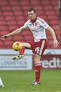 Sheffield United defender Neill Collins during the Sky Bet League 1 match between Sheffield Utd and Southend United at Bramall Lane, Sheffield, England on 14 November 2015. Photo by Ian Lyall.
