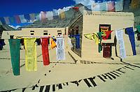 Inde - Province de l'Himachal Pradesh -  Ladakh - Vallée du Spiti - Monastère de Tabo