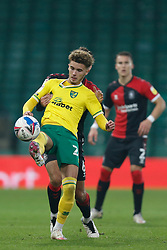 Josh Martin of Norwich City- Mandatory by-line: Phil Chaplin/JMP - 28/11/2020 - FOOTBALL - Carrow Road - Norwich, England - Norwich City v Coventry City - Sky Bet Championship