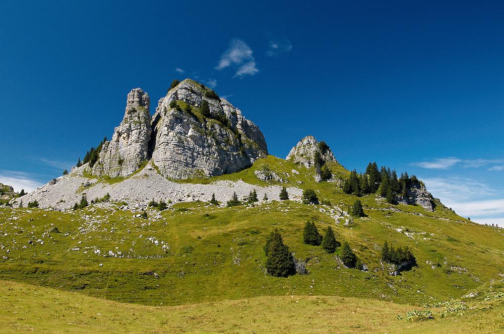 Switzerland - Oberhorn at Schynige Platte