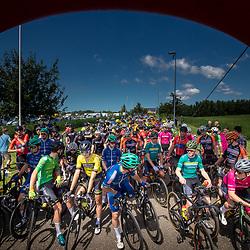 BIDDINGHUIZEN (NED) WIELRENNEN<br /> Zuiderzeeronde eerste wedstrijd Nederlandse Loterij  Clubcompetitie 2021<br /> Voor de start